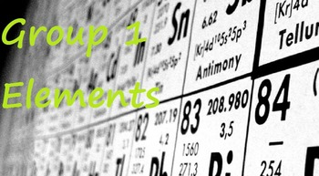 Chemistry: Group 1 Elements