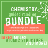 Chemistry Guided Reading Bundle