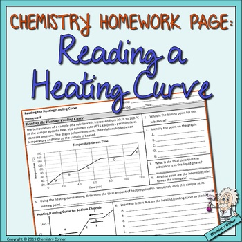 Chemistry Homework Reading The Heating Cooling Curve By Chemistry Corner