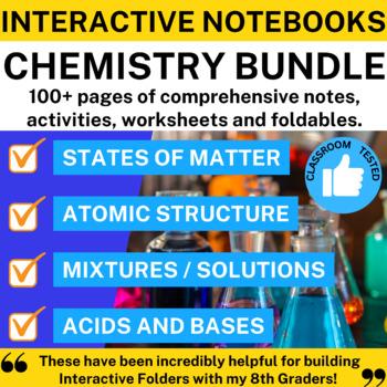 Chemistry Interactive Notebook Bundle - 4 INBs