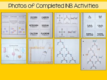 Chemistry Interactive Notebook Unit