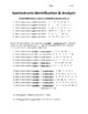 Chemistry Isoelectronic Ion Identification and Analysis Worksheet