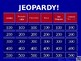 Chemistry Jeopardy Game