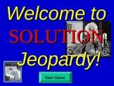 Chemistry Jeopardy- Mixtures