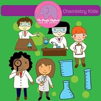Chemistry Kids Clip Art
