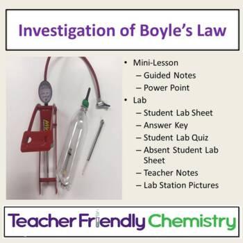 Chemistry Activity: Boyles Law