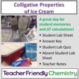 Chemistry Lab: Colligative Properties of Ice Cream