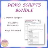 Chemistry Labs & Demo Scripts Bundle
