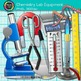 Chemistry Lab Equipment Clip Art {Beakers, Test Tubes, Fla