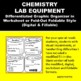 Chemistry Lab Equipment Graphic Organizer Foldable for Interactive Notebook
