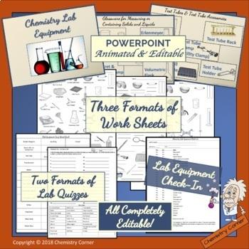 Chemistry Lab Equipment- Identification