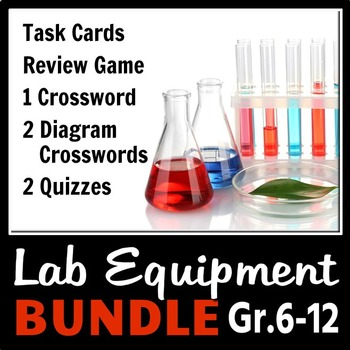 Lab Equipment - LESSON BUNDLE {Editable}