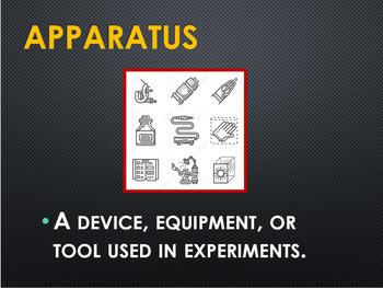 Chemistry Lab Equipment Power Point