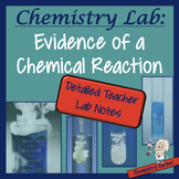 Chemistry Lab: Evidence of a Chemical Reaction