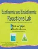 Chemistry Lab: Exothermic and Endothermic Chemical Reactio