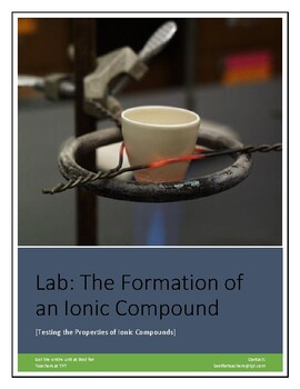 Chemistry Lab: Formation and Properties of Ionic Compounds