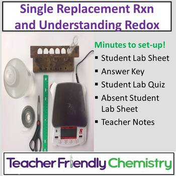 Chemistry Lab: Investigation of a Single Replacement Redox Reaction