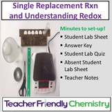 Chemistry Lab: Investigation of Redox using a Single Replacement Reaction