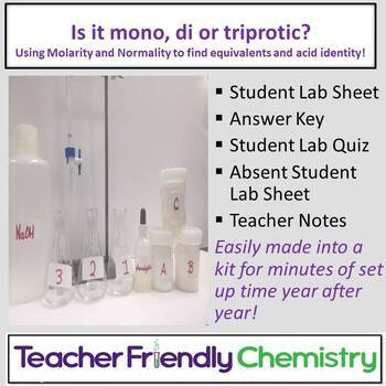 Chemistry Lab: Is it mono, di or triprotic?