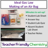 Chemistry Lab: Making of an Air Bag