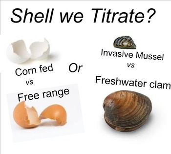 Chemistry Lab: Shell we do a Titratation?