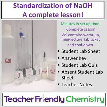 Chemistry Lab: Standardization of NaOH Complete Lesson