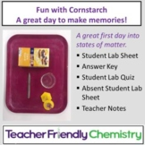 Chemistry Lab: States of Matter - Fun with Cornstarch