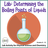 Chemistry Lab:  The Boiling Points Of Liquids