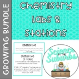 Chemistry Labs & Stations -- Growing Bundle!