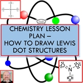 Chemistry Lesson Plan:  How to Draw Lewis Dot Structures