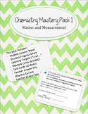 Chemistry Mastery Pack 1-Matter and Measurement