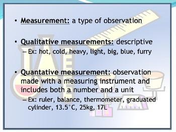 Chemistry Math Review Presentation (units measurement significant figures)