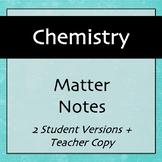 Chemistry Notes: Matter
