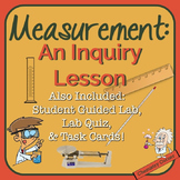 Chemistry: Measurement Lesson with Task Cards and Lab