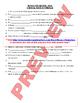 Chemistry Midterm Review BUNDLE