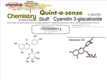 Chemistry Mini-Lesson & Treat: Anthocyanins color