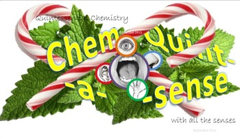 Chemistry Mini-Lesson & Treat: Christmas BUNDLE