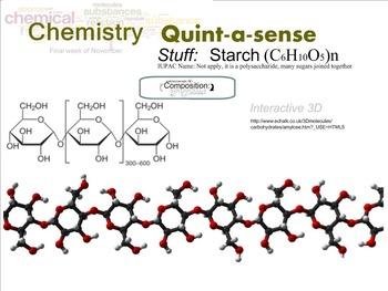 Chemistry Mini-Lesson & Treat: Thanksgiving 4 -Starch