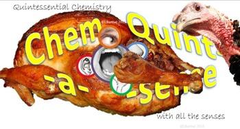 Chemistry Mini-Lesson & Treat: Thanksgiving BUNDLE