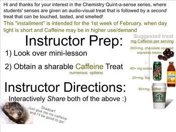 Chemistry Mini-Lesson & Treat: Weeks 21-28 BUNDLE