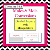 Chemistry Moles and Mole Conversions Guided Inquiry Lesson