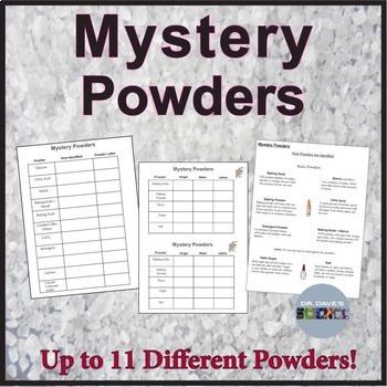 mystery powder lab middle school