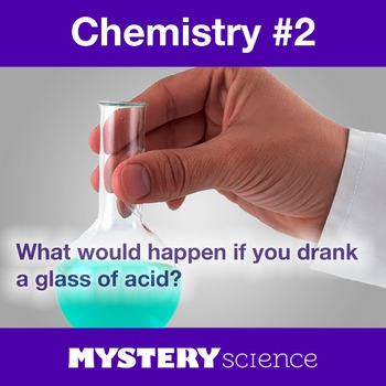 Chemistry NGSS:Properties of Acids ❤ BUNDLE:Activity, Read