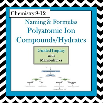 Chemistry Naming  Formulas Polyatomic Ions  Hydrates Guided