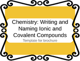 Chemistry: Naming and Writing Compounds Brochure