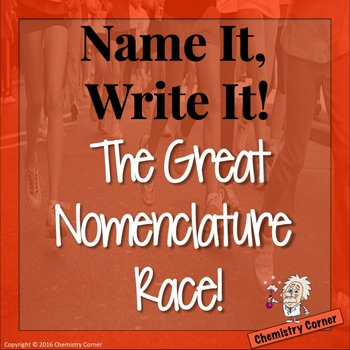 Chemistry Nomenclature Race Acitivity