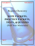 NGSS Regents Chemistry - Notes, Practice, Quizzes & Tests
