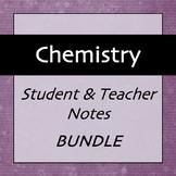 Chemistry Notes Bundle