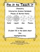 Chemistry BUNDLE: Notes, Graphic Organizers, & Quiz!