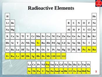 Chemistry - Nuclear Chemistry PowerPoint